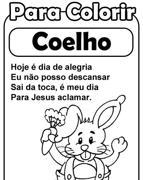 Simbolos Da Pascoa Coelho Amiguinhos De Deus