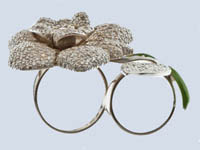 Sex in the city flower ring