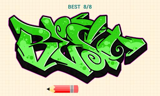 How to Draw Graffitis 5.0 screenshots 6