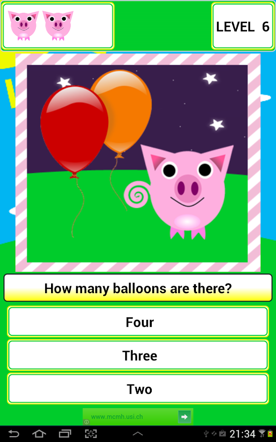Learns with the pig Penny- screenshot