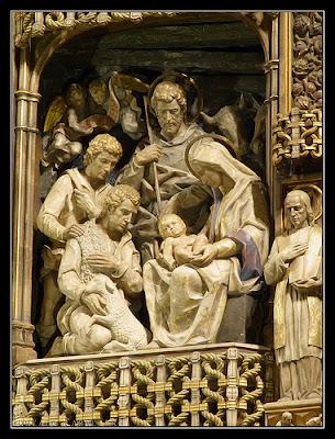 Natividad, retablo de Ntra. Sra. de Torreciudad
