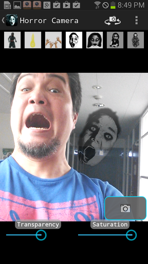 Horror Camera -Scary Photo- - screenshot