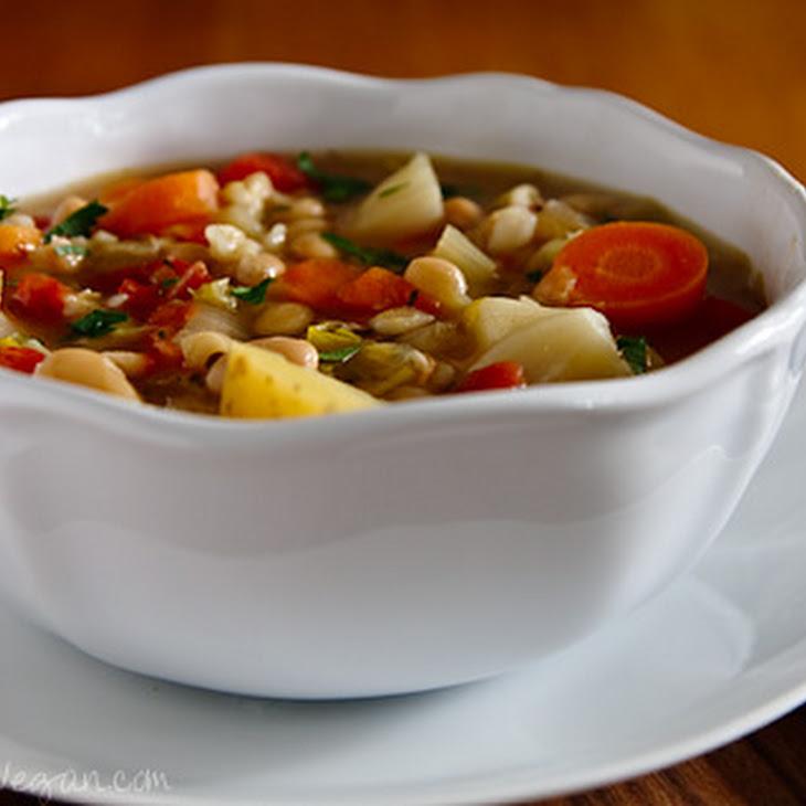 Irish White Bean and Cabbage Stew Recipe