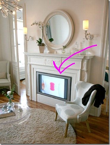 When Researching This Post I Came Across Some Interesting Pictures On Apartment Therapy Where The Home Owner Takes Tv Fireplace Alignment One Step