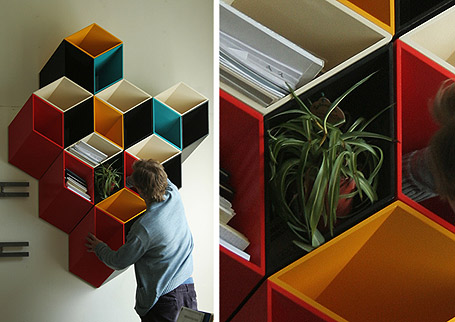 25 creative and modern bookshelves