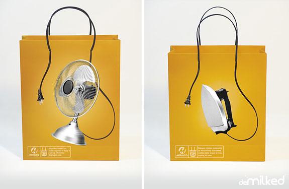 33 Creative Shopping Bag Advertisements