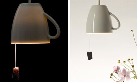 Awesome 20. Tea Cup Lamp