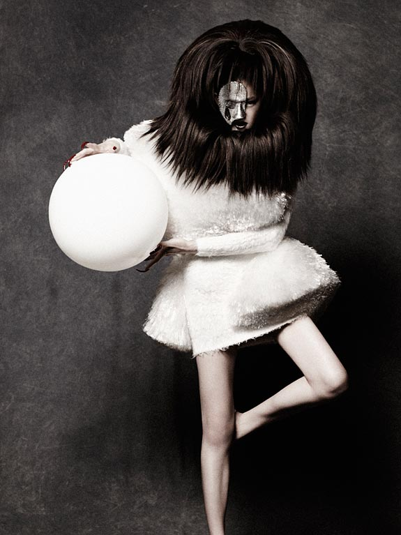Amazing Avant-Garde Hairstyles by Peter Gray   DeMilked
