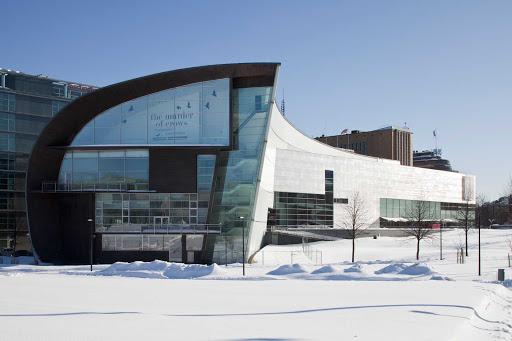 Kiasma Museum in Helsinki, Finland.