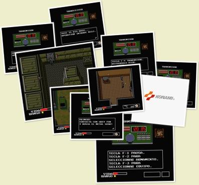 Ver Fotos de la versión MSX2 de Metal Gear en Español
