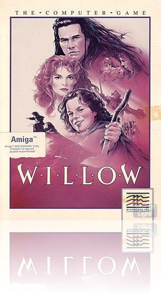 Willow Amiga cover