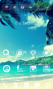 Another Sky dodol theme