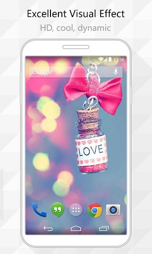 Love Bottle Live Wallpaper