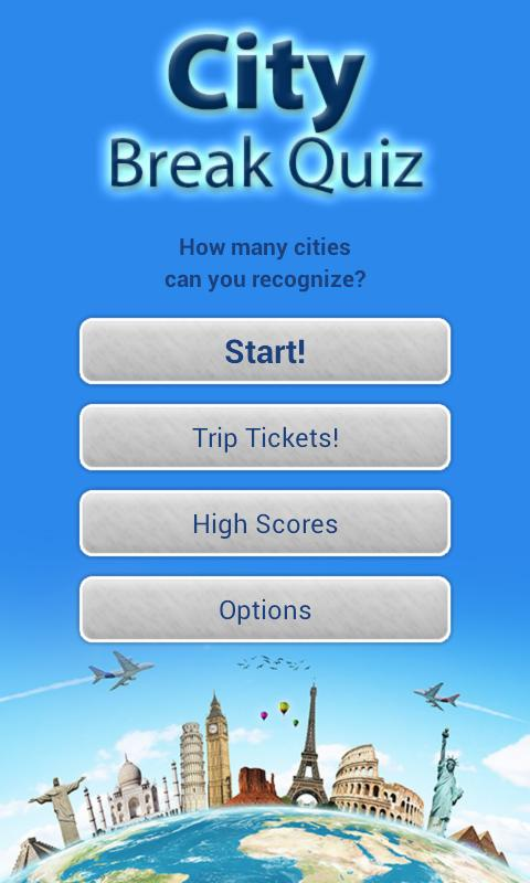 Geography Quiz - City Puzzle - screenshot