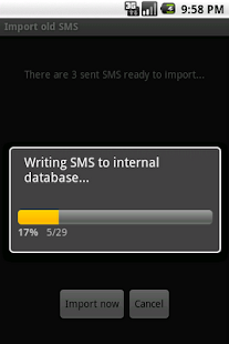 SMS to GMAIL - screenshot thumbnail