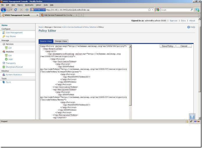 C++ Web Services