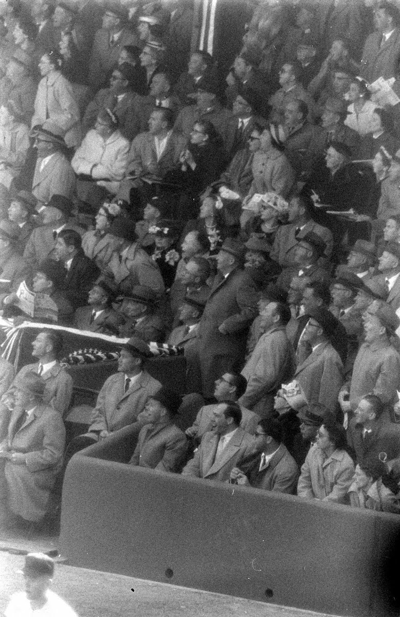 Wash. Balt. Baseball Game Opening Game 1957
