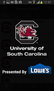 South Carolina Gamecocks Sport - screenshot thumbnail