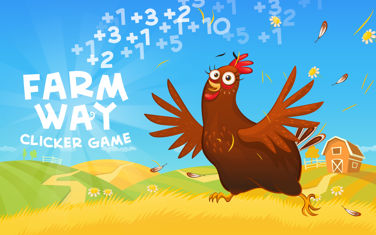 Farm Way - Clicker Game- screenshot