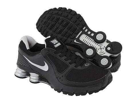 46bba3fac4725a Nike Shox Turbo + 10 Negro   Plateado met¨¢lico Zapatilla vans