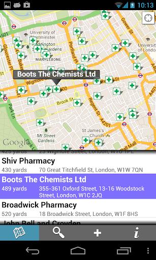 Find Pharmacies