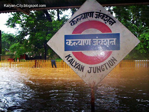 Kalyan City Flood Photos, Heavy Rain 26 July 05 - Floods