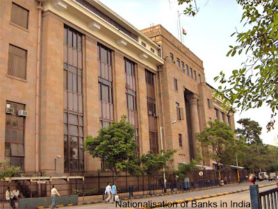 Nationalisation of Banks in India