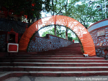 Stairs of Durgadi Fort