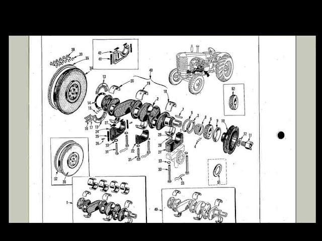 massey harris 44 wiring diagram massey harris mh 44 tractor service & part manuals -240pg ... volvo penta kad 44 wiring diagram