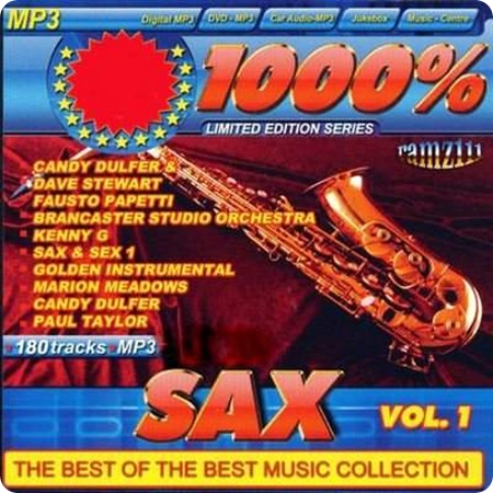 Матафон: VA - 1000% Sax Vol 1 (2010) MP3