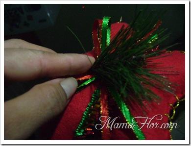 Como hacer una estrella navideña -6615