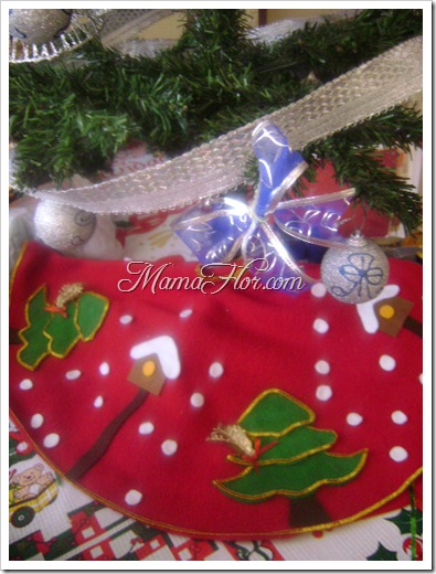 Como hacer la base o pie del Árbol navideño