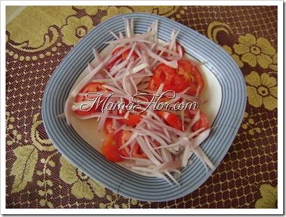 ensalada rápida y deliciosa