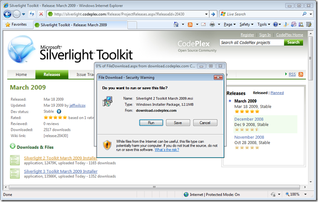 Ning Zhang's Blog: Silverlight Toolkit Design Time Features: March