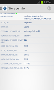 Device Info Android - náhled