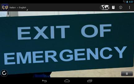 Word Lens Translator Screenshot 3