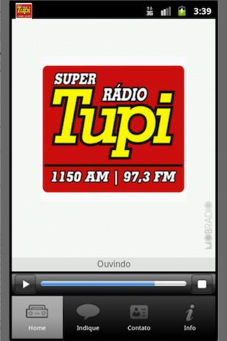 Super Radio Tupi | SP - screenshot