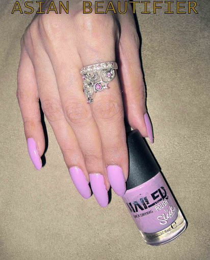 Sleek Nailed Polish - Lilac