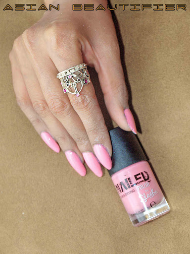 Sleek Nailed Polish - Pastel Pink