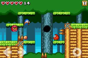 Screenshot of Bloo Kid