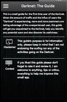Darknet: The Guide - screenshot