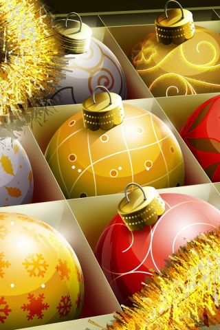 150+ Huge collection of Christmas iPhone Wallpapers