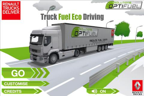 Truck Fuel Eco Driving - screenshot