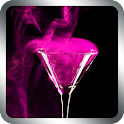 Pink Cocktail Live Wallpaper icon