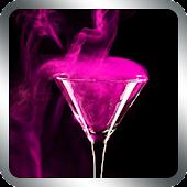 Pink Cocktail Live Wallpaper