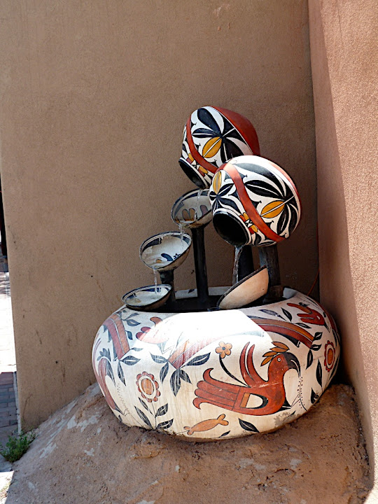 Pueblo Pottery Fountain