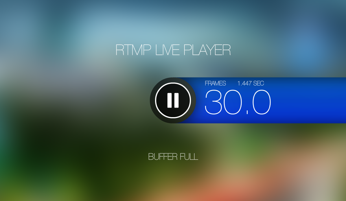 RTMP LIVE Stream Player- screenshot