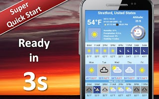 Screenshot of Weather 5 days