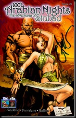 The Adventures of Sinbad #1