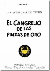 P00009 - Tintín  - El cangrejo de las pinzas de oro.howtoarsenio.blogspot.com #8